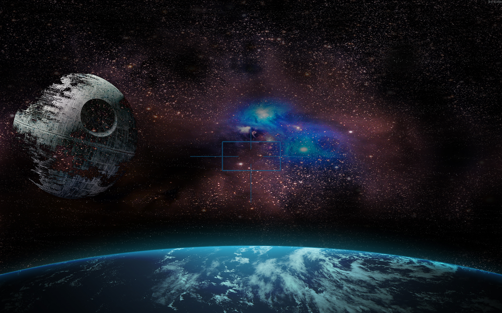 death star The death star is a fictional moon-sized space station and superweapon appearing in the star wars movies and expanded universe it is capable of destroying a planet with a single destructive beam.