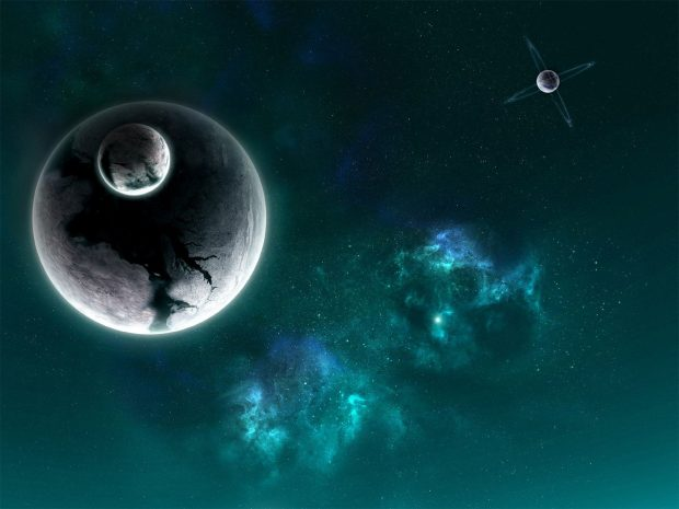 Outer Space Stars Planets Death Picture.