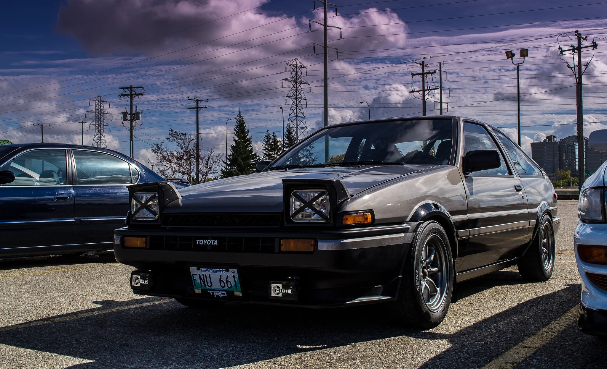 HD Toyota Corolla Ae86 Wallpaper