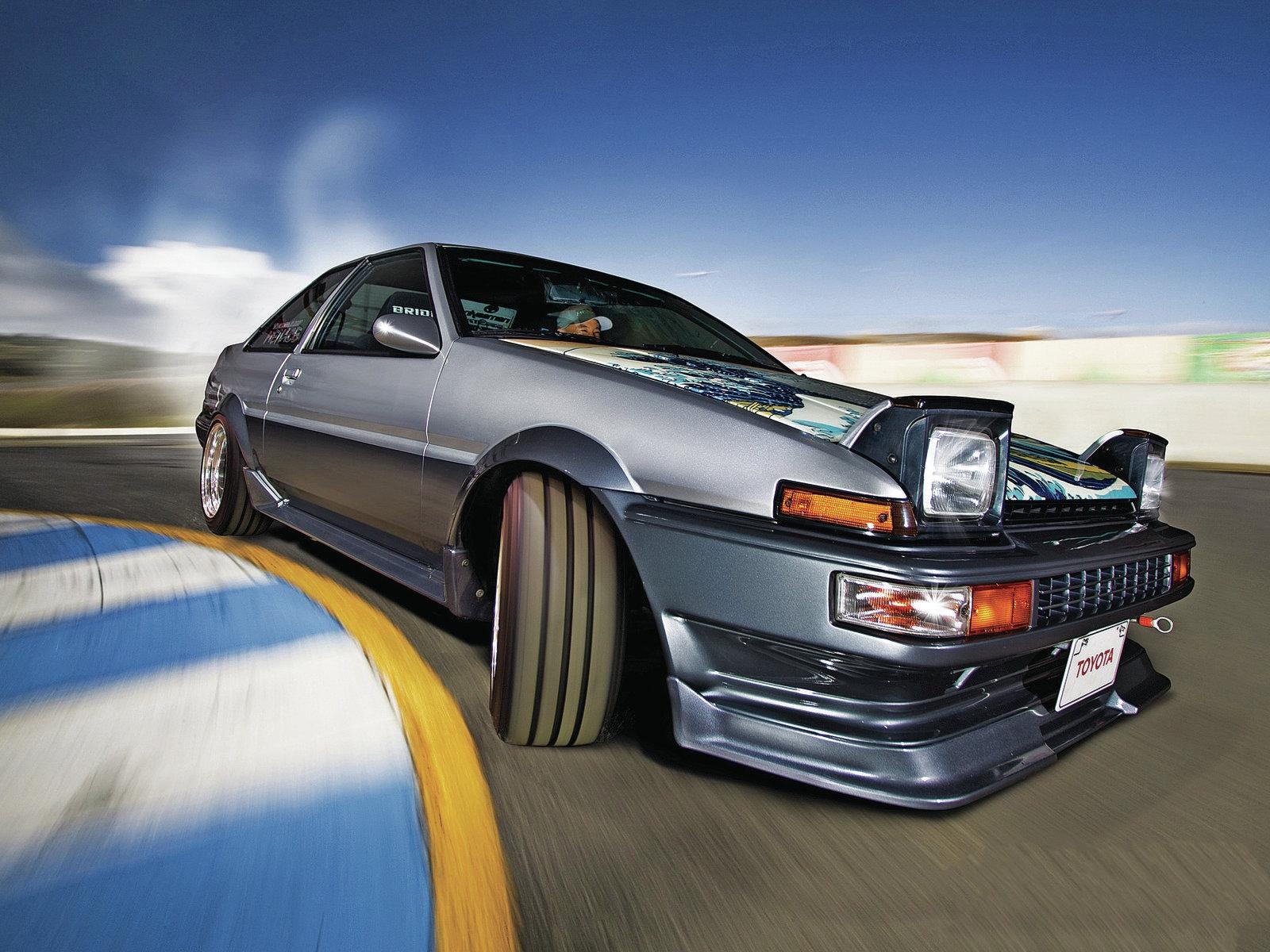 HD Toyota Corolla Ae86 Wallpaper