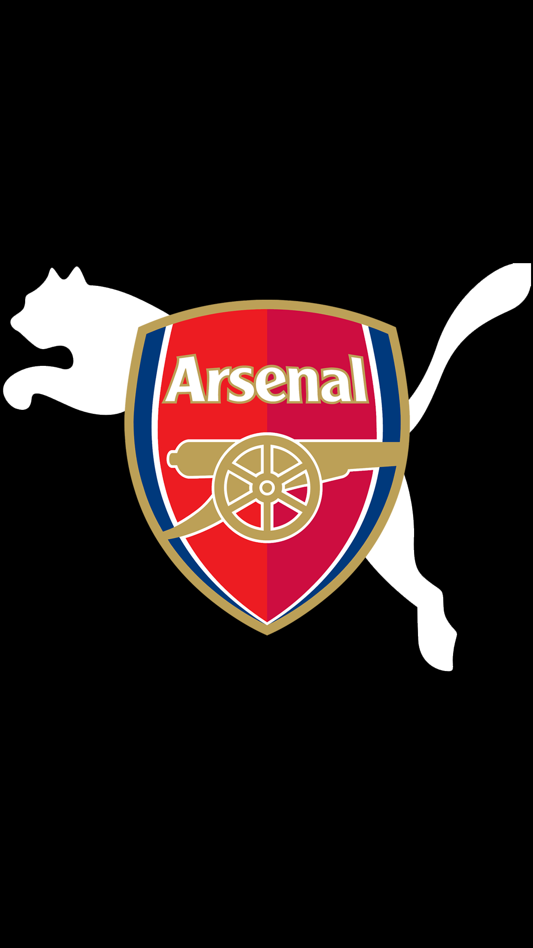 arsenal logo hd wallpaper for mobile