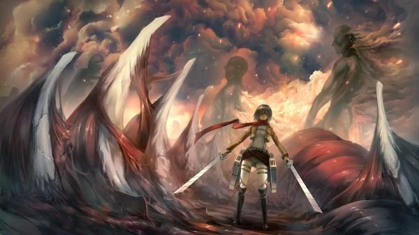 Attack On Titan Wallpaper for Desktop   PixelsTalk.Net
