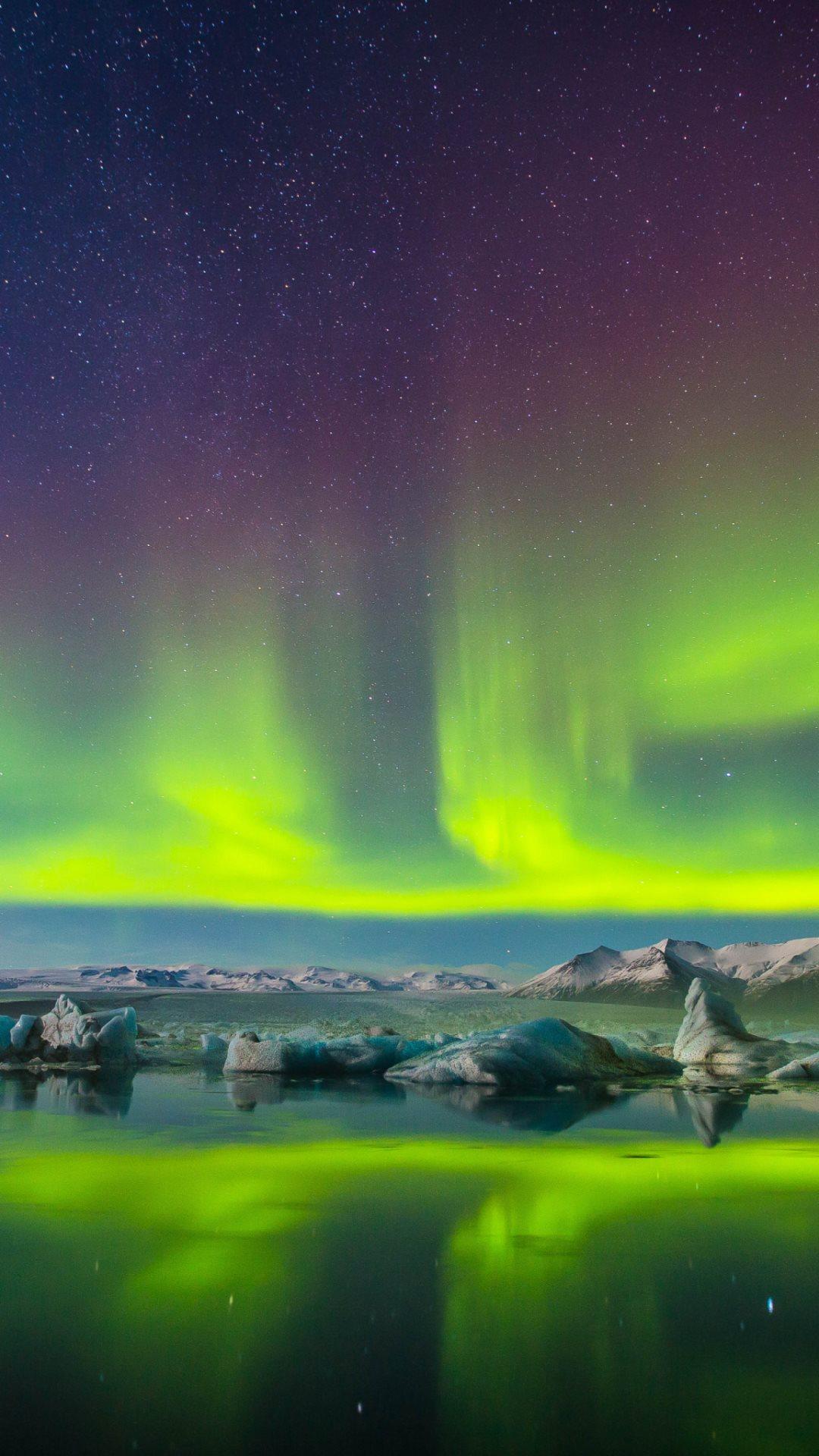 Aurora Borealis HD Wallpaper For Mobile