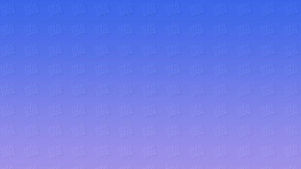 Blue Blank Wallpaper.