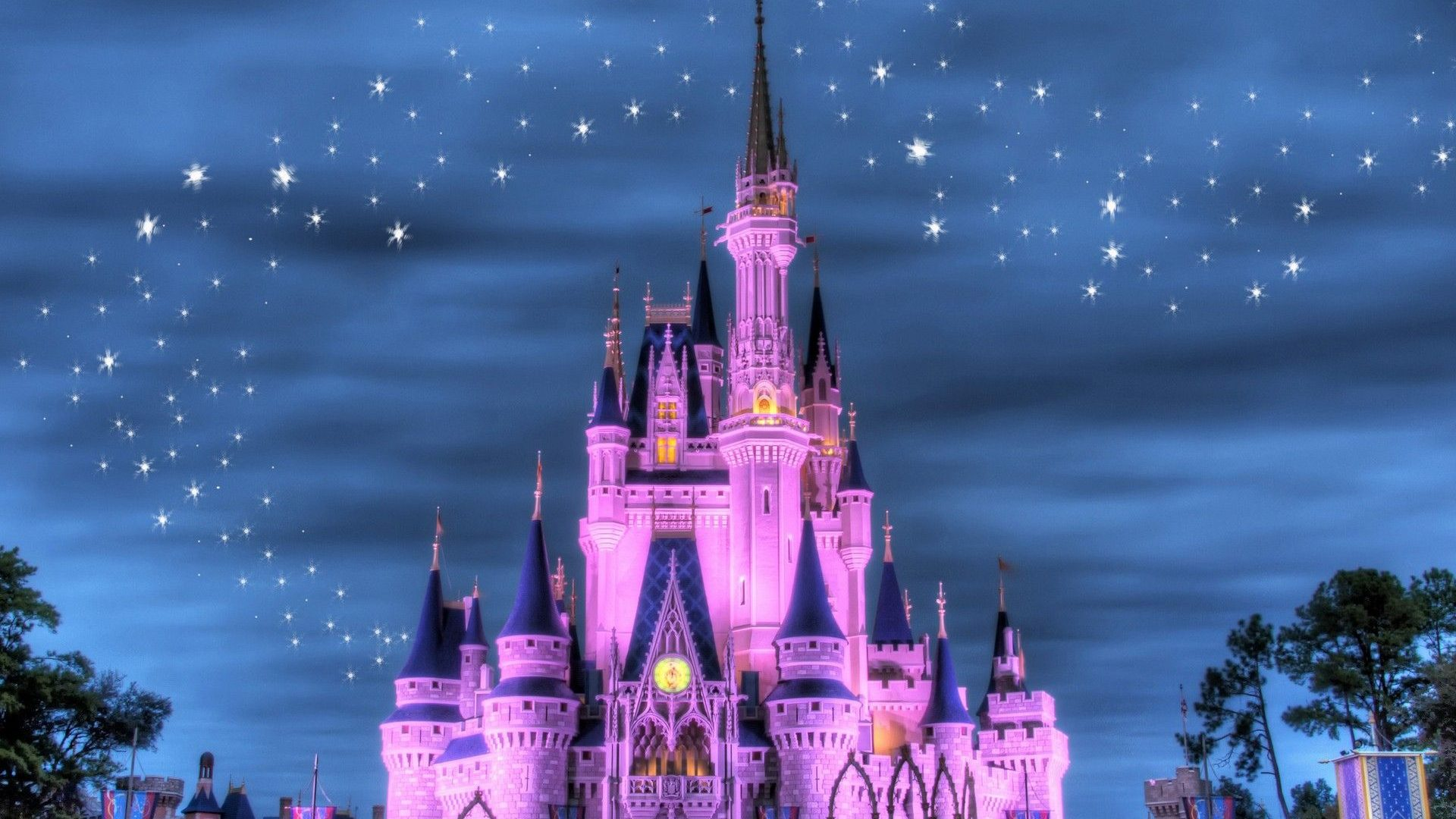 Disney Castle Wallpapers Hd Pixelstalk Net