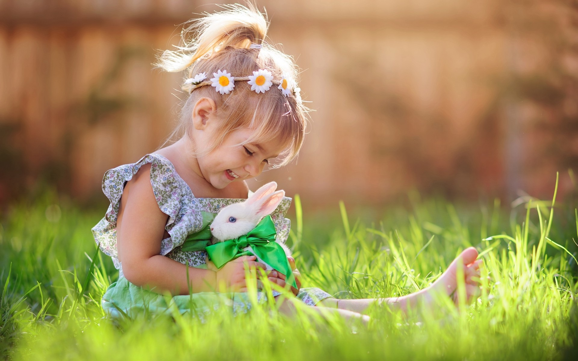 Baby Bunny Background For Desktop