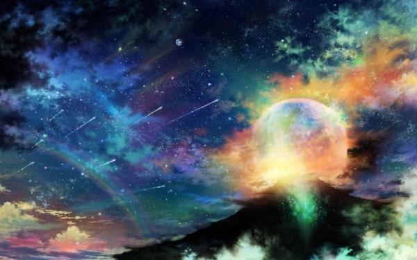 Colorful Galaxy Wallpaper HD | PixelsTalk.Net