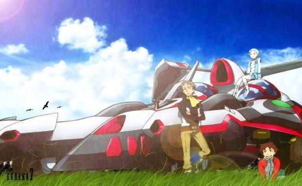 Anime Eureka Seven Backgrounds Download.