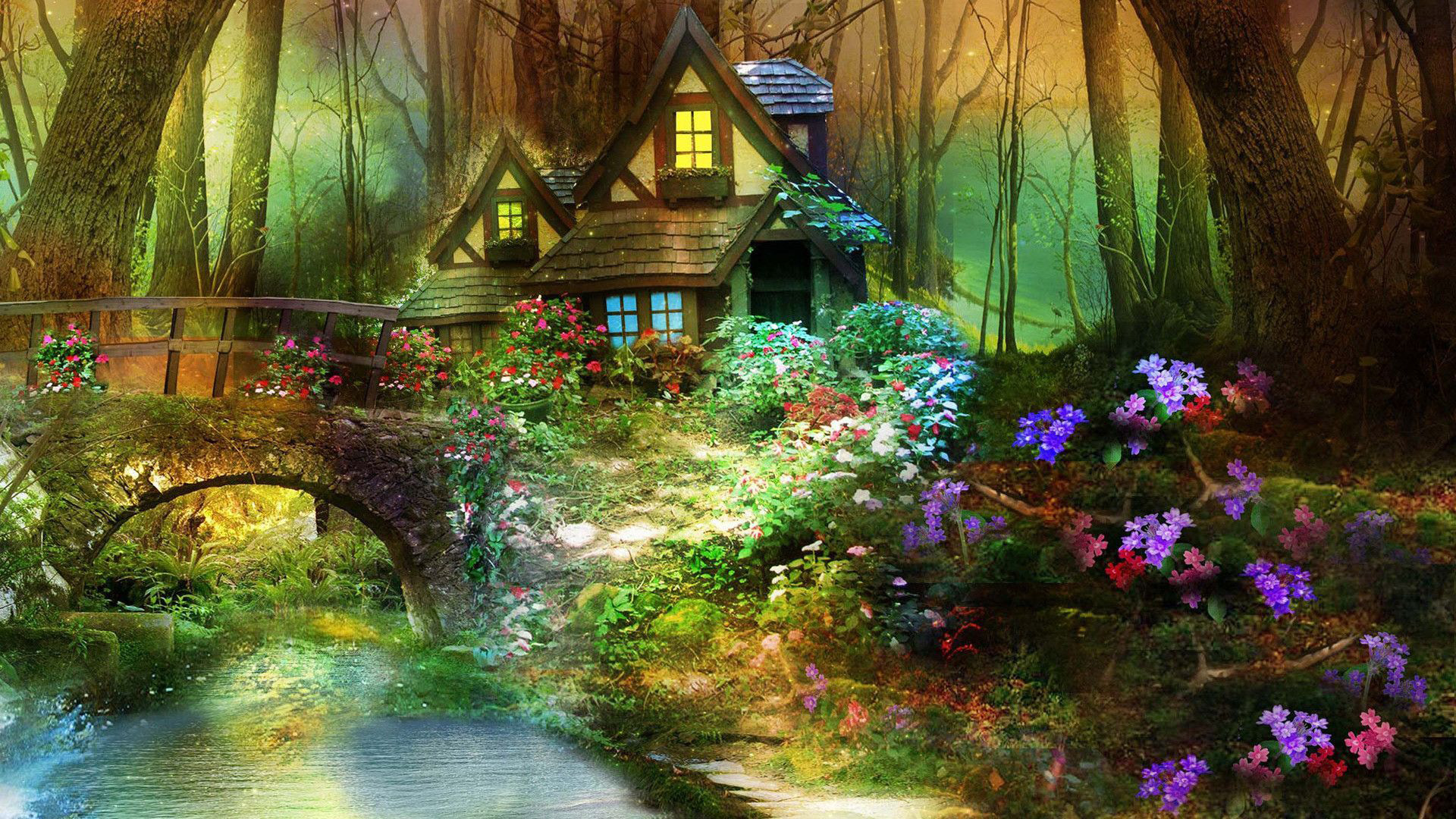 Enchanted Forest Wallpapers HD