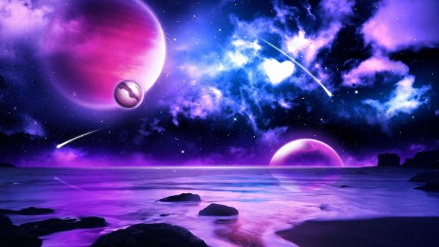 Download Free Blue and Purple Background.