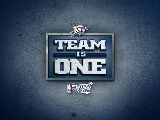 Oklahoma City Thunder Basketball Club Wallpaper 4.