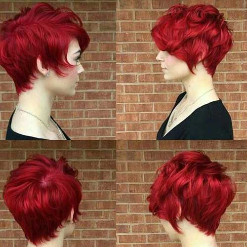 15 Red Pixie Cut Pixie Cut 2015