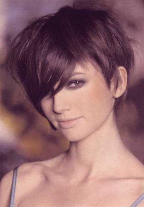 Image Result For Pixie Cut Long Bangs