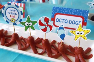 Under the Sea Party Toppers by Pixiebear Party Printables
