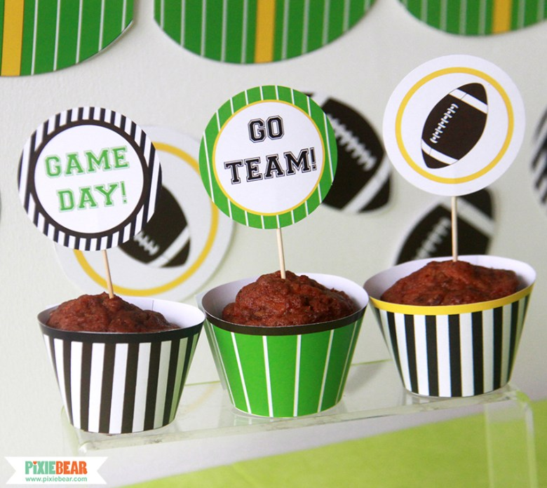 Football Party Ideas by Pixiebear (8)