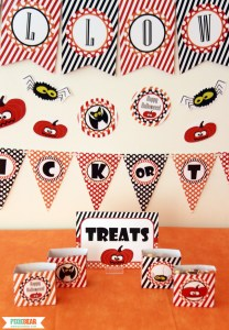 Halloween Party Decorations by Pixiebear