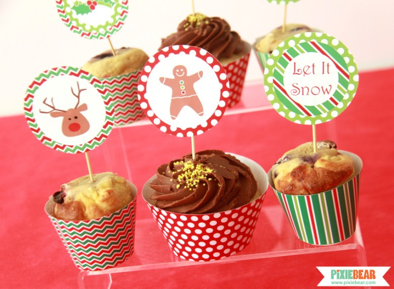 Christmas Party Food Ideas by Pixiebear Party Printables