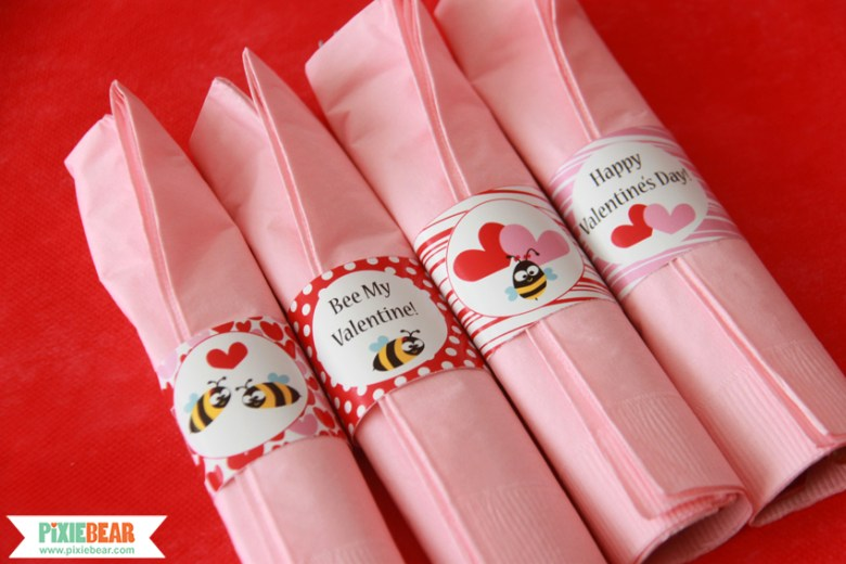 Valentine's Day Party Ideas by Pixiebear Party Printables