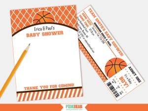Basketball Baby Shower ideas by Pixiebear.com