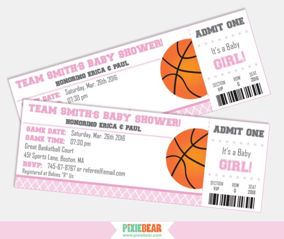 Basketball Baby Shower ideas by Pixiebear.com