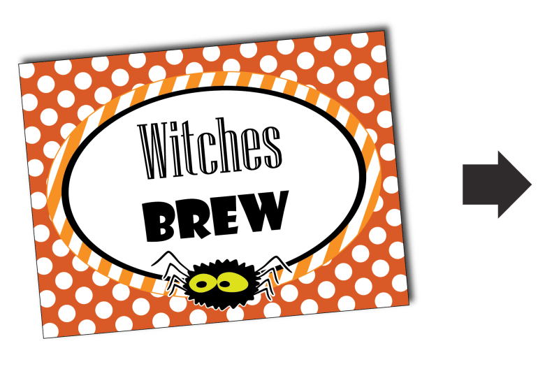 Free Printable Halloween Labels by Pixiebear