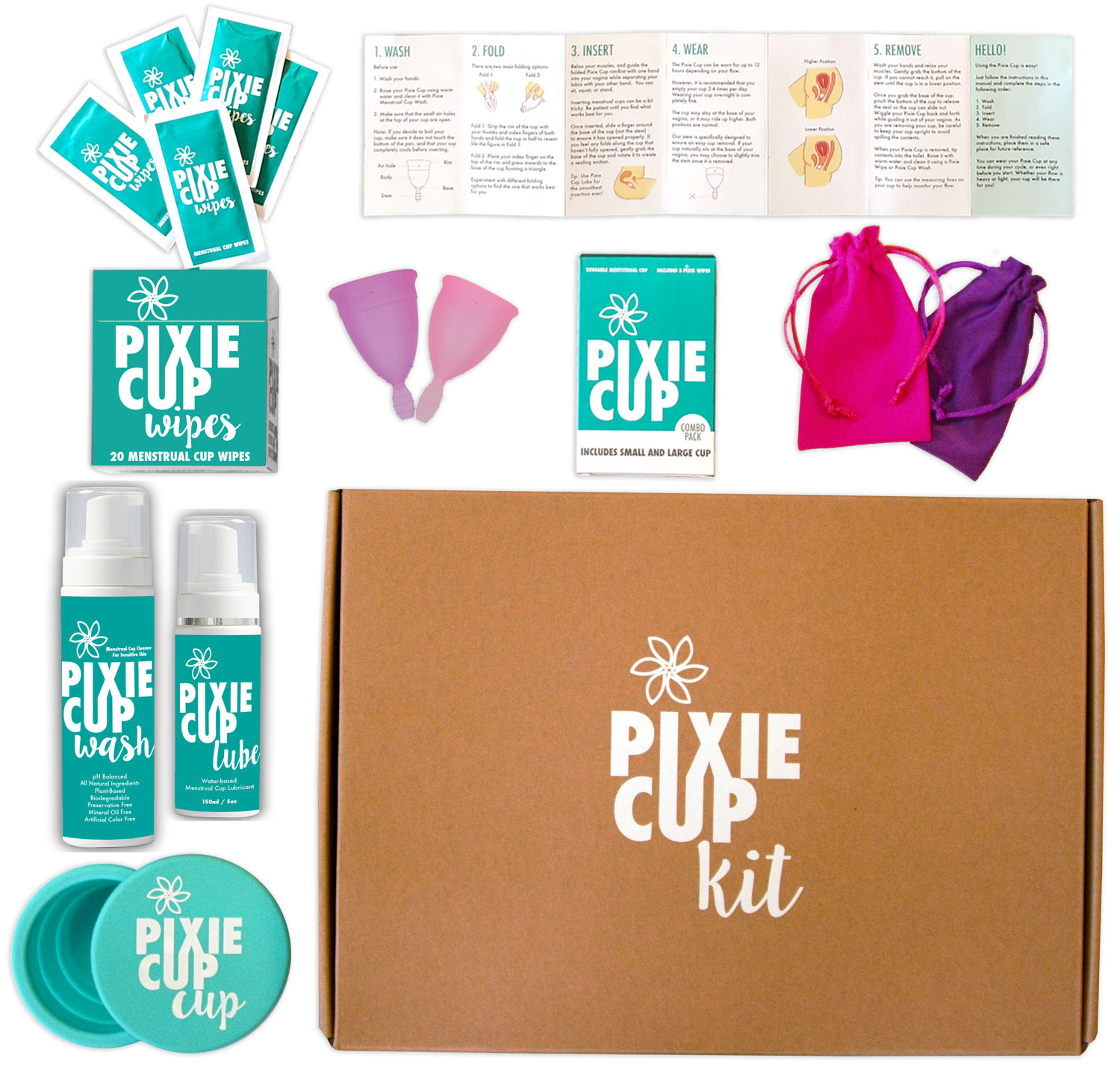 Everything you need to make the switch to pixie menstrual cups