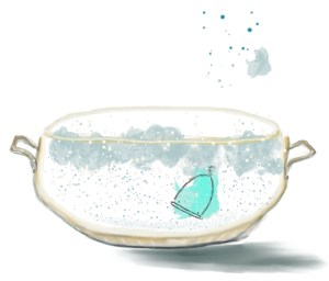 Boiling your Pixie Menstrual Cup