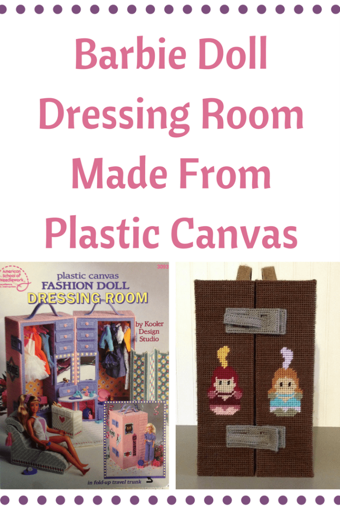 Plastic Canvas Barbie Dressing Room