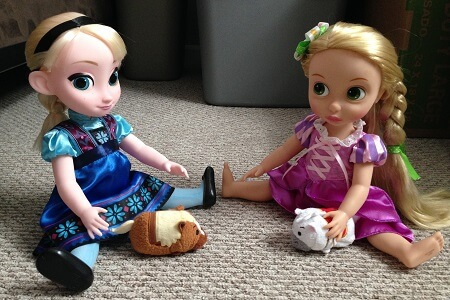 Review of Disney Animator Dolls.