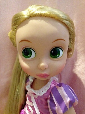Close Up Look At Rapunzel.