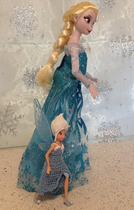 Periwinkle and Elsa.