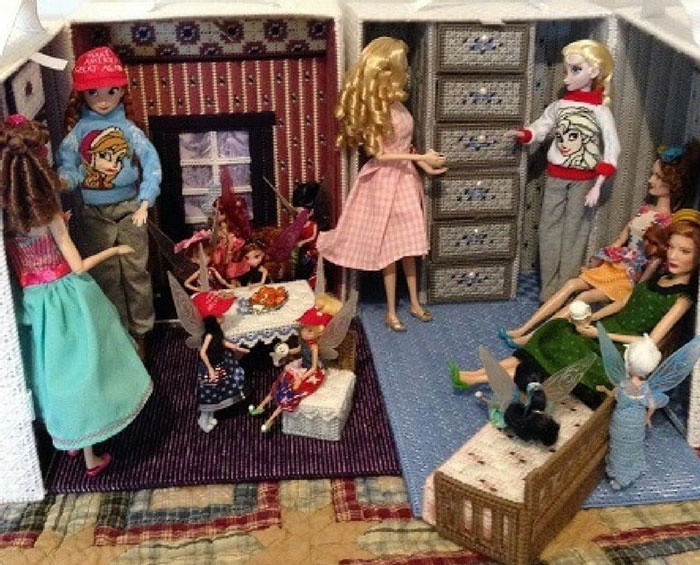 Image Of Our Doll Collection Celebrating Thanksgiving