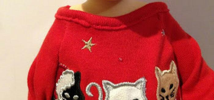 Collar Of Doll Sweater