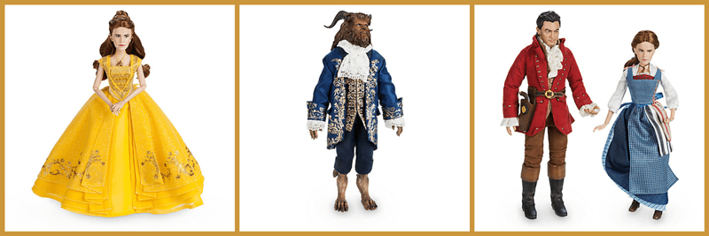 Doll News: Beauty And The Beast Dolls Released For Live Action Movie