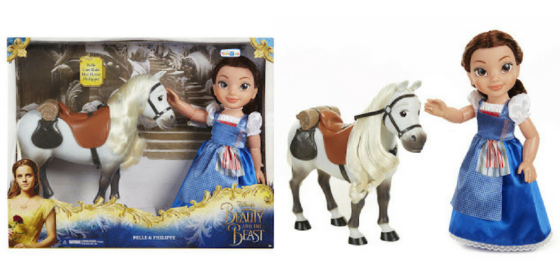 Hasbro Toddler Belle Doll With Horse