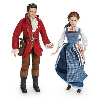 Photo Of Disney Film Collection Dolls: Belle And Gaston Set
