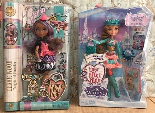 Ever After High Dolls: Cedar Wood And Ashlynn Ella