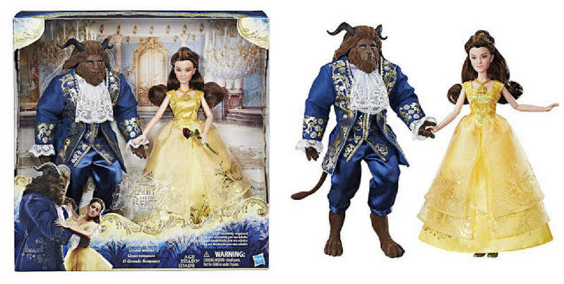 Beauty And The Beast Grand Romance Playset
