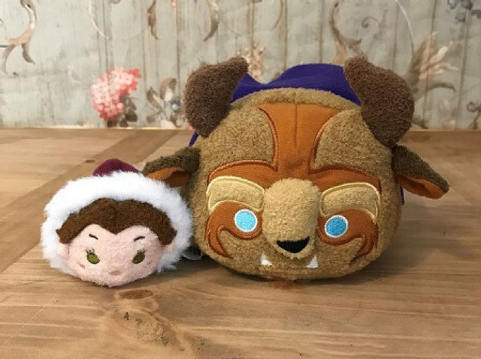 Winter Belle And Beast Tsum Tsums
