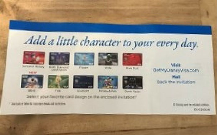 Credit Card Advertisement