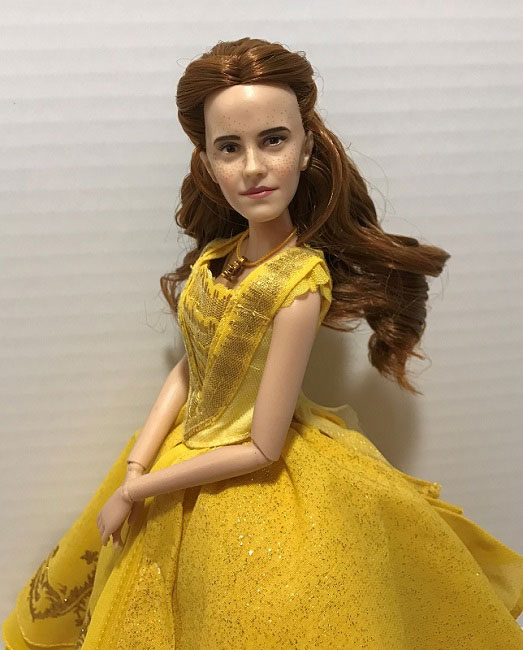 Disney Film Collection Ball Gown Belle Doll Review