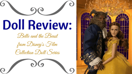Doll Review: Belle And The Beast From Disney's Film Collection Doll Series