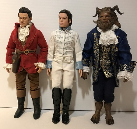 Film Collection Dolls: Gaston, Kit, And The Beast