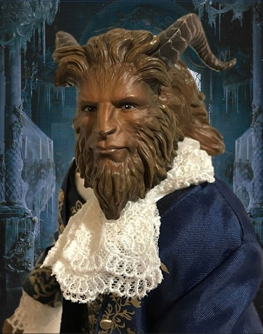 Live Action Beauty And The Beast Doll Review: The Beast