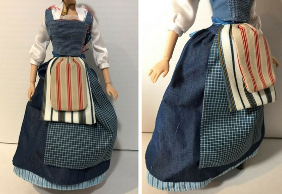 Belle's Peasant Dress From The Live Action Movie