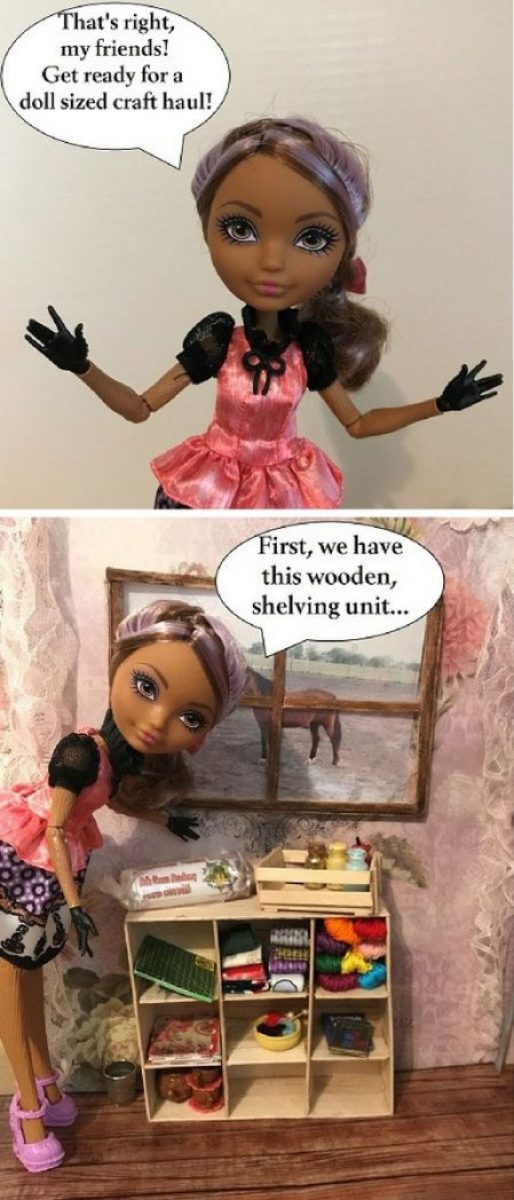 Cedar Wood Doll: Get Ready For A Doll Sized Craft Haul