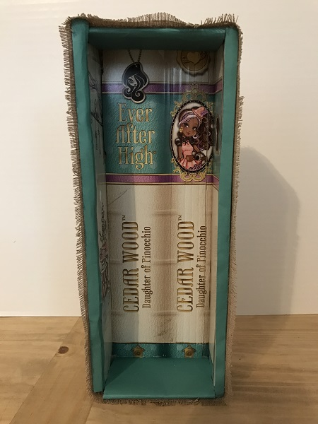 Doll Bed Lined With Ever After High Box