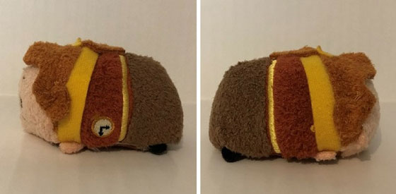 Cogsworth Mini Tsum Tsum Side View