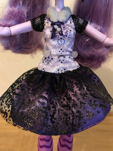Kitty Cheshire's Purple Dress