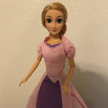 Image Of Rapunzel Doll (Disney Classic)